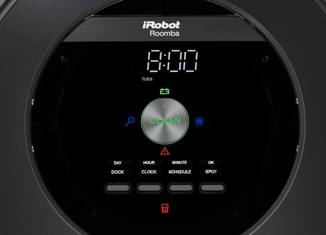 Roomba 800 Interface