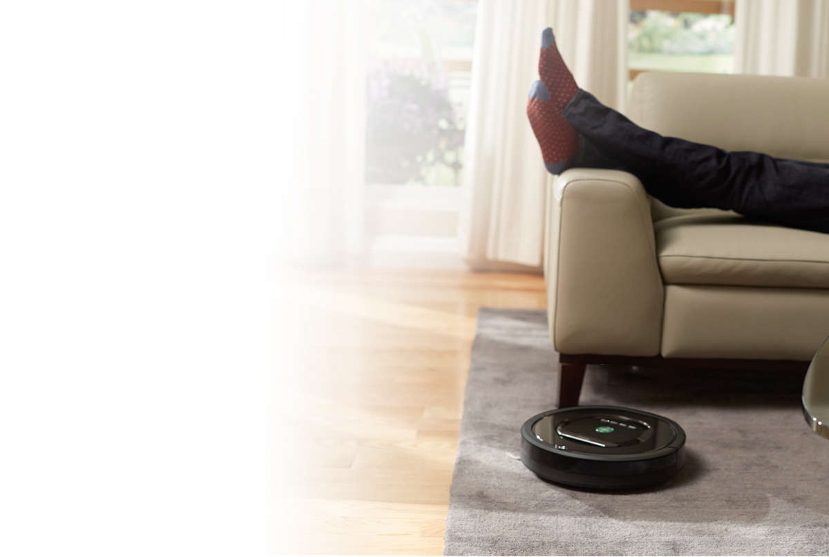 irobot roomba vacuum cleaning robot. Black Bedroom Furniture Sets. Home Design Ideas
