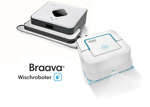 braava wischroboter familie irobot. Black Bedroom Furniture Sets. Home Design Ideas