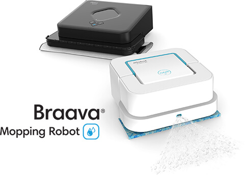 Braava 300 and Braava jet