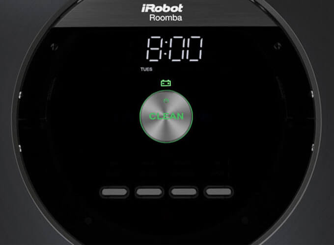 Roomba can preset to vacuum up to seven times a week, meaning clean foors everyday.