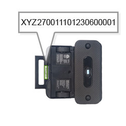 your braava 300 series and mint serial number is located underneath the handle - Irobot Braava 380t