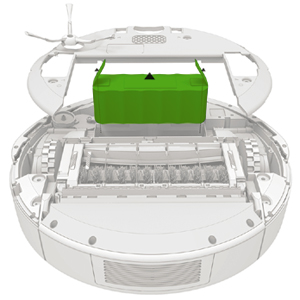 How do I replace Roomba® 500 and 600 Series battery