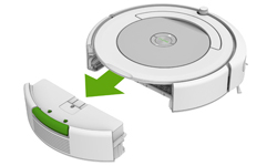 Cleaning the Roomba 600 series bin and filter  | iRobot