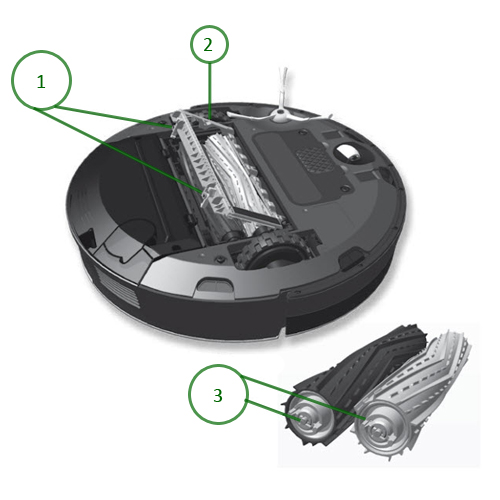 how to clean roomba 800