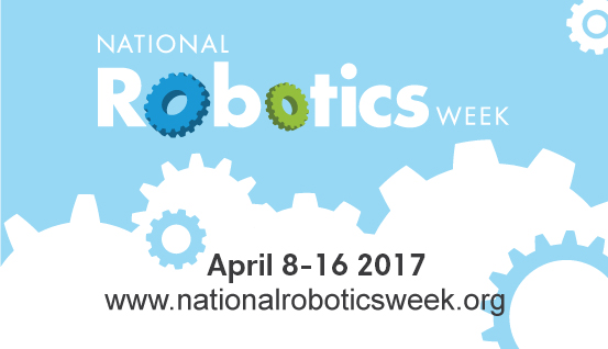 National Robotics Week Banner 2017