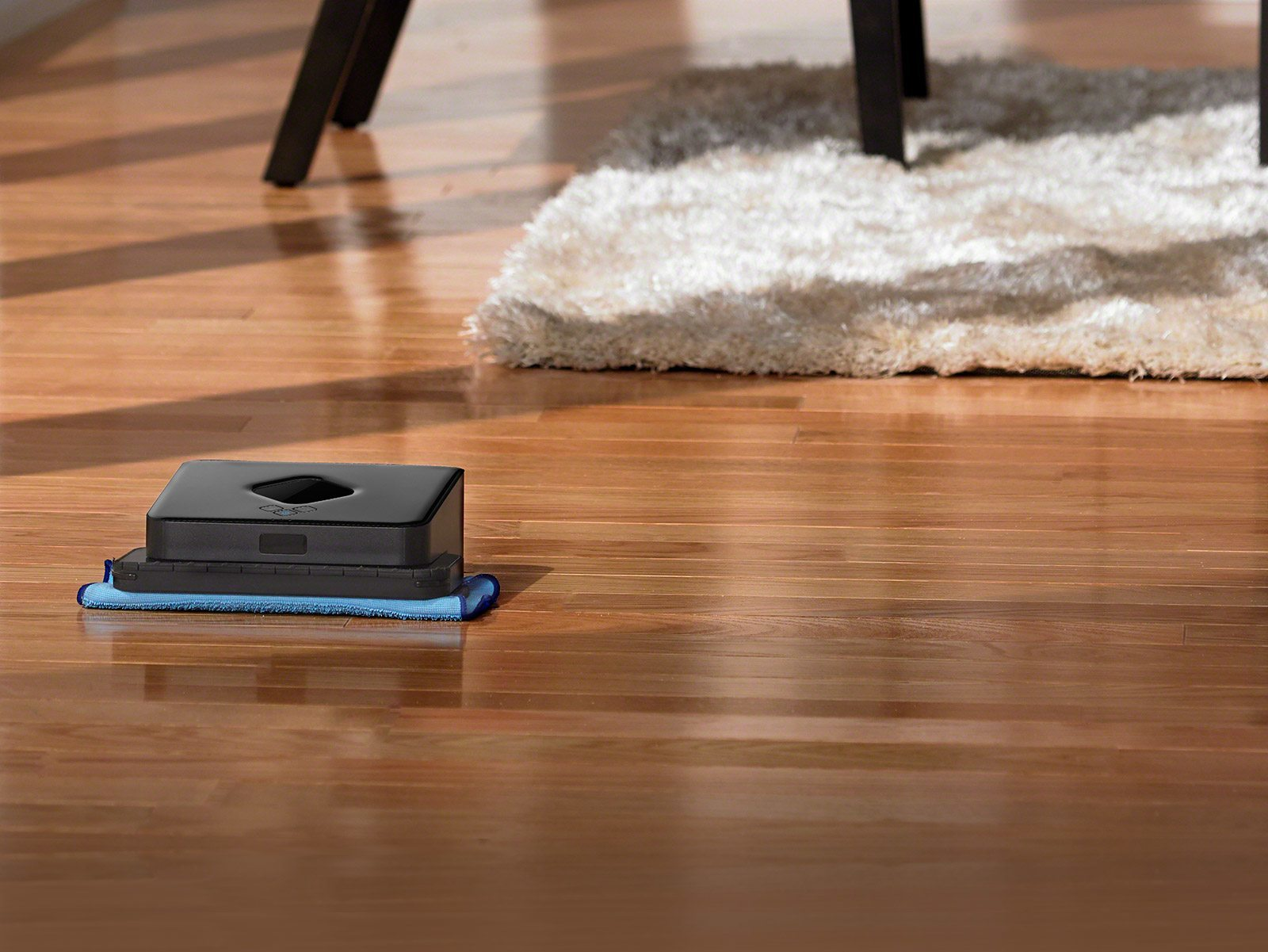 Eliminating another boring job and leaving it for a mechanized servant is iRobot with the introduction of the Braava