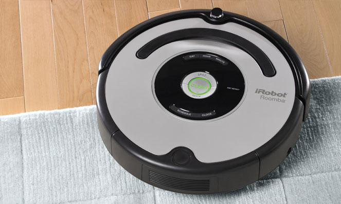 Roomba 500 Anatomy Irobot