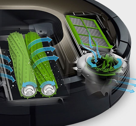 iRobot Roomba AeroForce Cleaning System