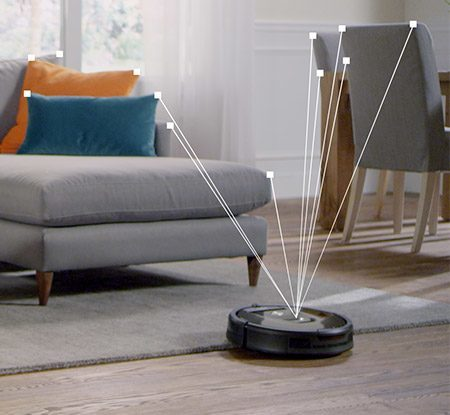 Visual Localization expands the Roomba 980's coverage to an entire level of your home