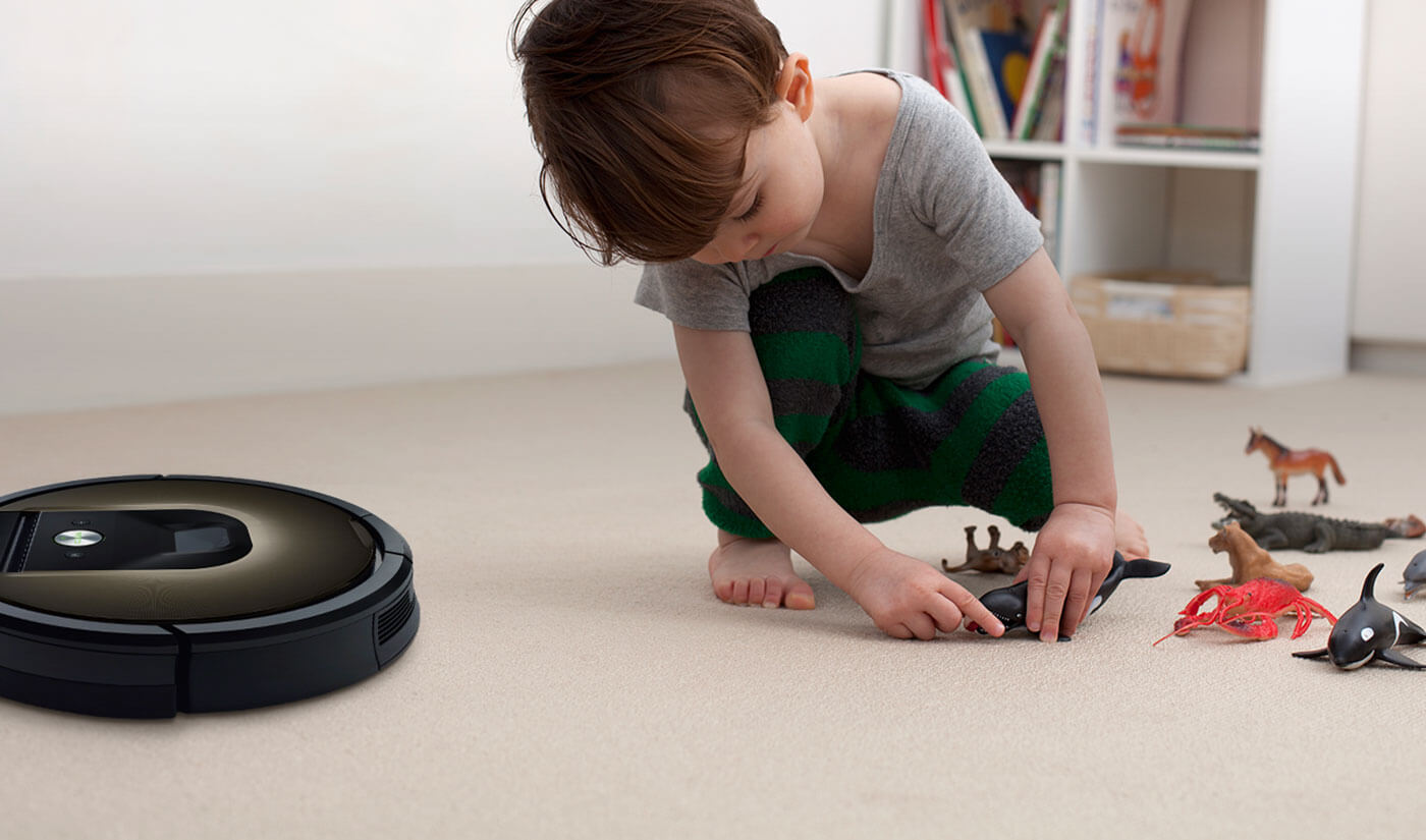 The iRobot® Roomba® Vacuum Cleaning Robot