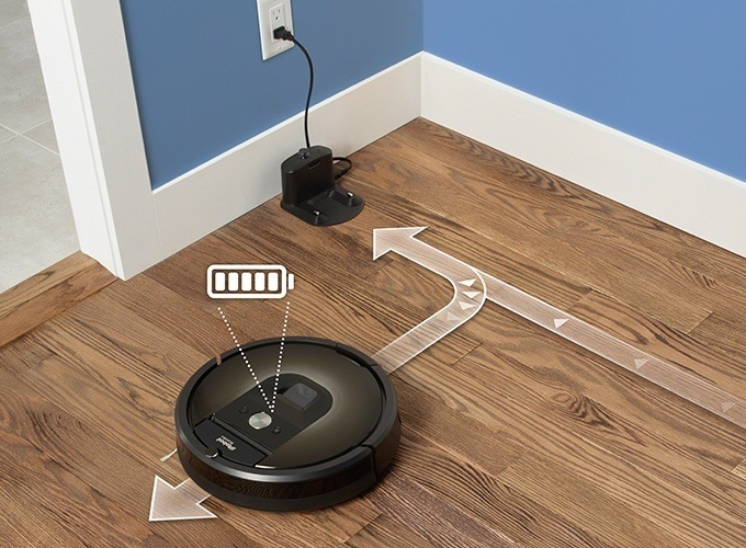 iRobot Roomba Makes Sure Job Is Done