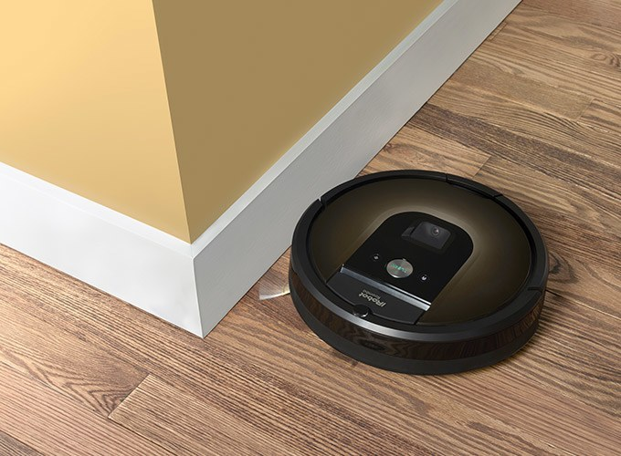 Roomba reaches dirt everywhere